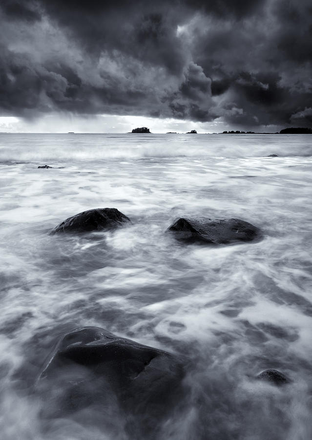 Sitka Photograph - Turbulent Seas by Mike  Dawson