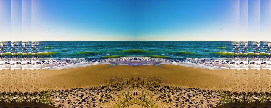 Beach Digital Art - Turn The Page by Betsy Knapp