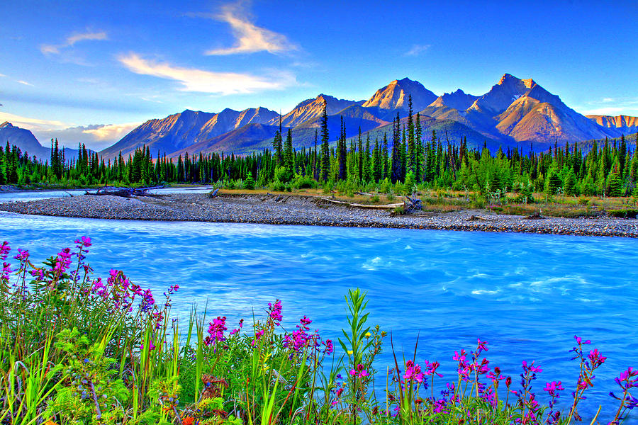 Turquoise River Photograph