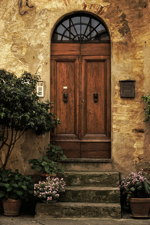 Tuscan Photograph - Tuscan Entrance by Andrew Soundarajan