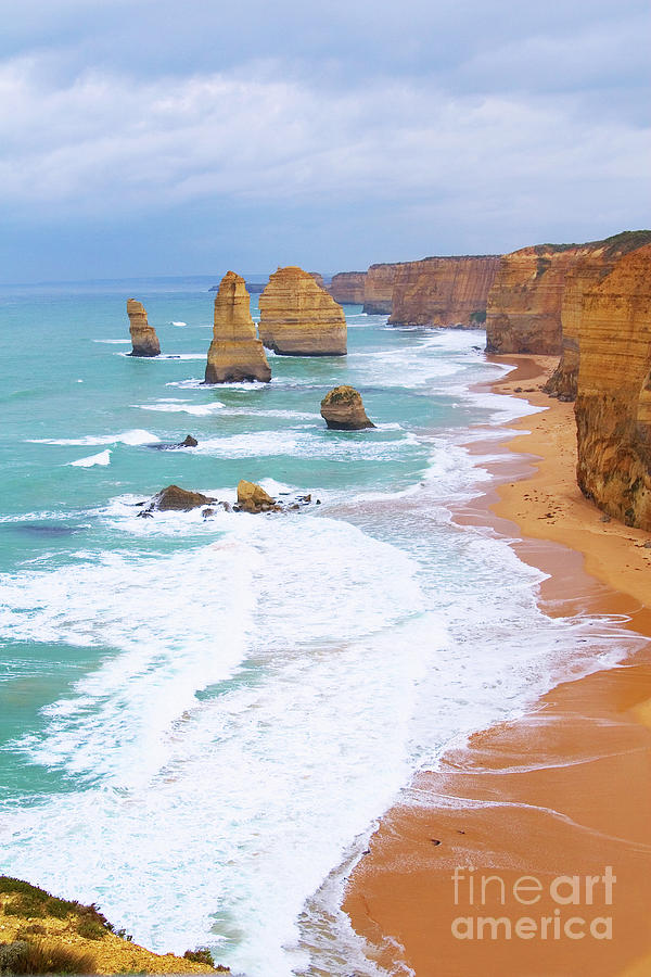 Twelve Apostles Photograph - Twelve Apostles by Fir Mamat