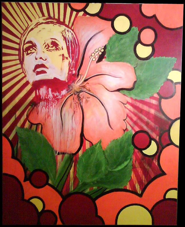 Twiggy Painting