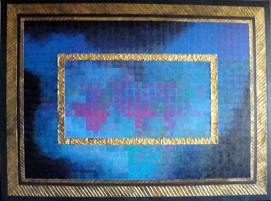 Abstract Painting - Twilight by Bernard Goodman