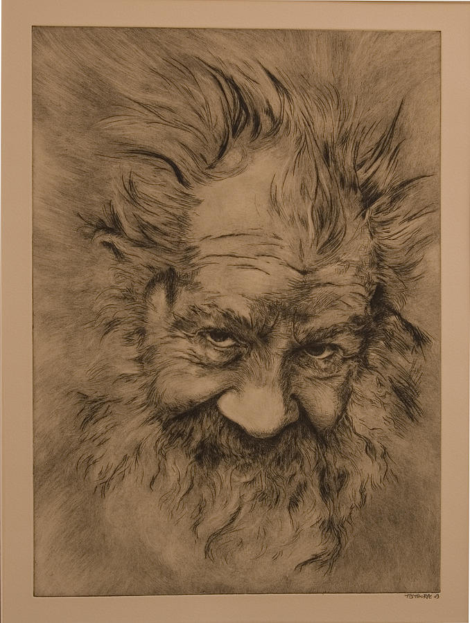 Portrait Painting - Ue3 - Untold Stories by Tim Thorpe