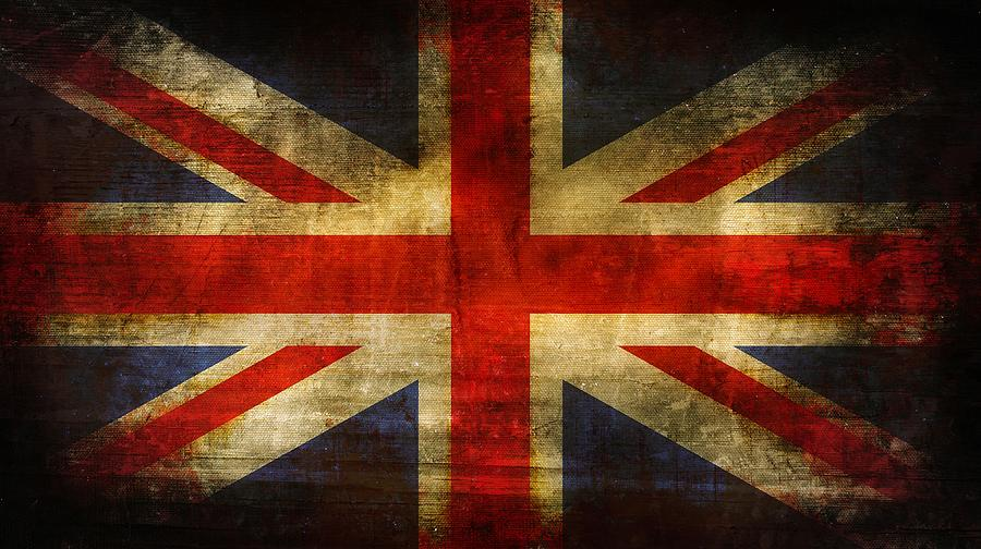 Brett Digital Art - Uk Flag by Brett Pfister