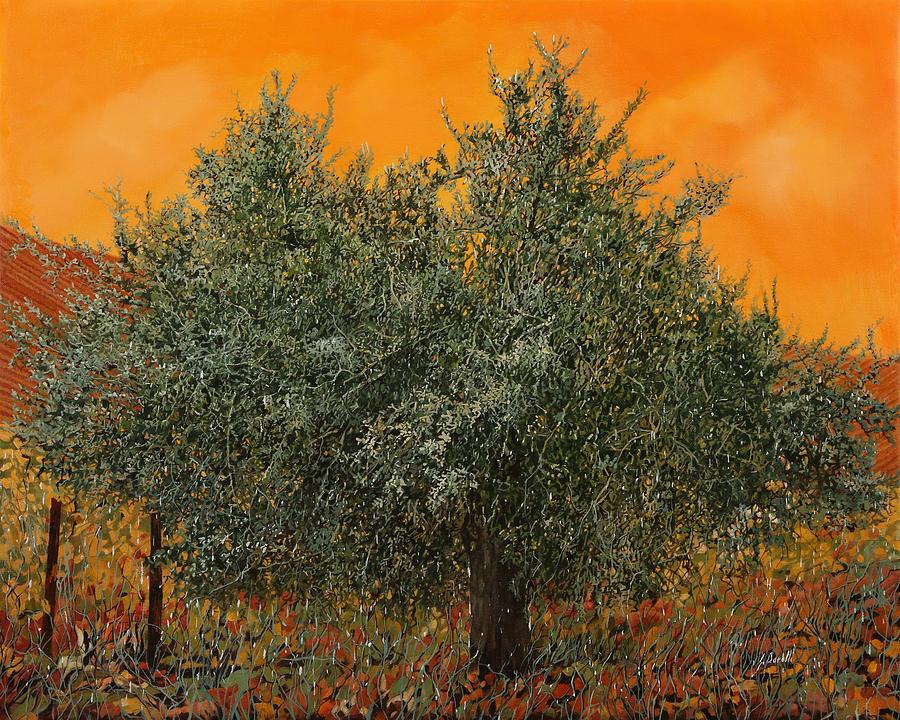 Un Altro Ulivo Al Tramonto Painting