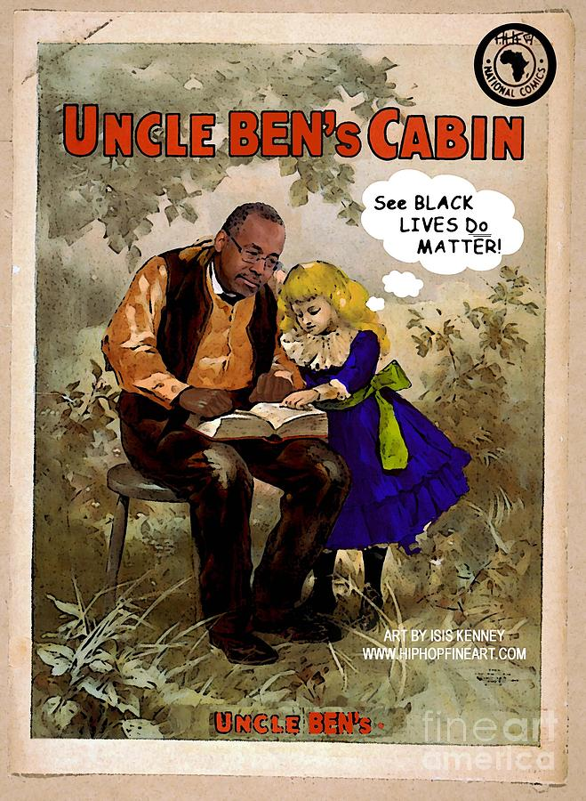 uncle ben 39 s cabin ben carson digital art by isis kenney