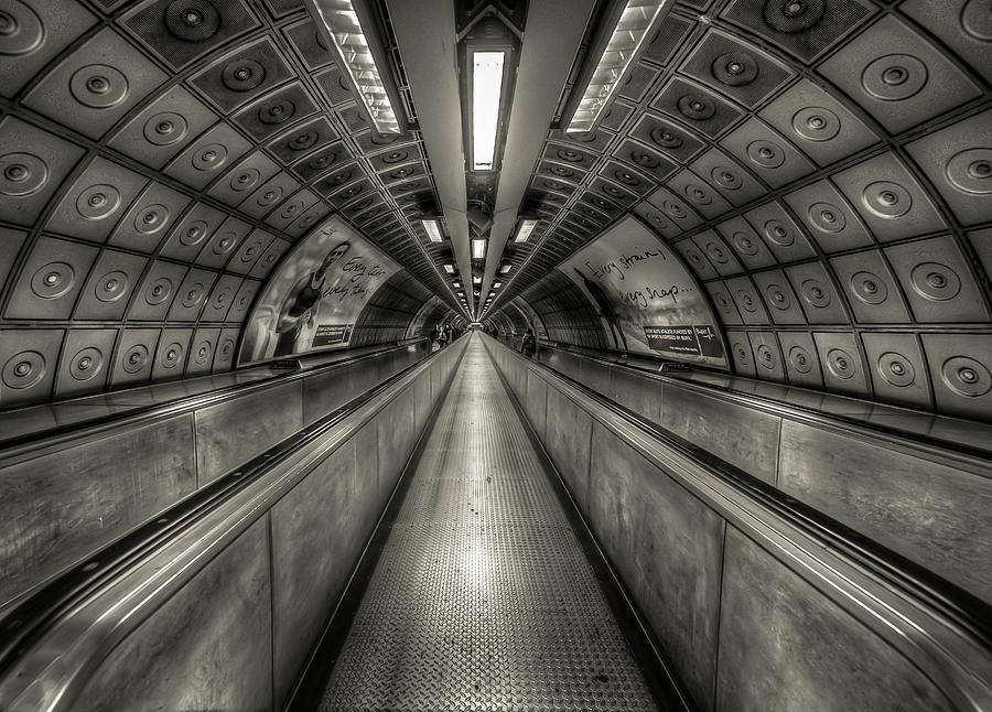 Underground Tunnel Photograph