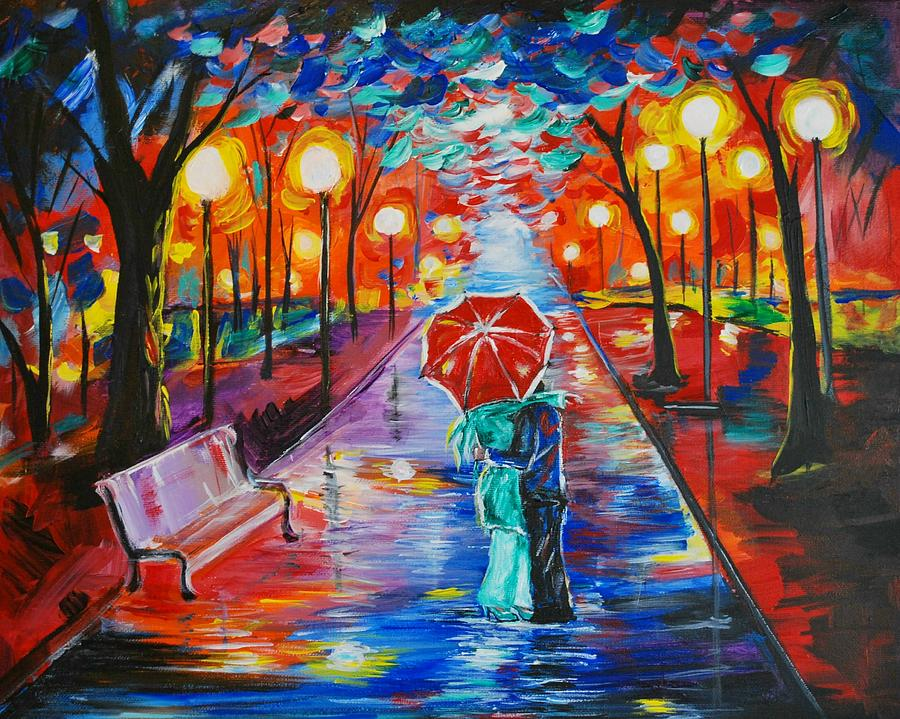Unforgettable Kiss Painting