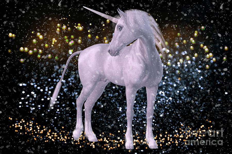 Unicorn Dust Digital Art