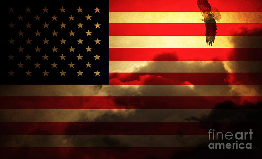 United States Of America . Land Of The Free Photograph