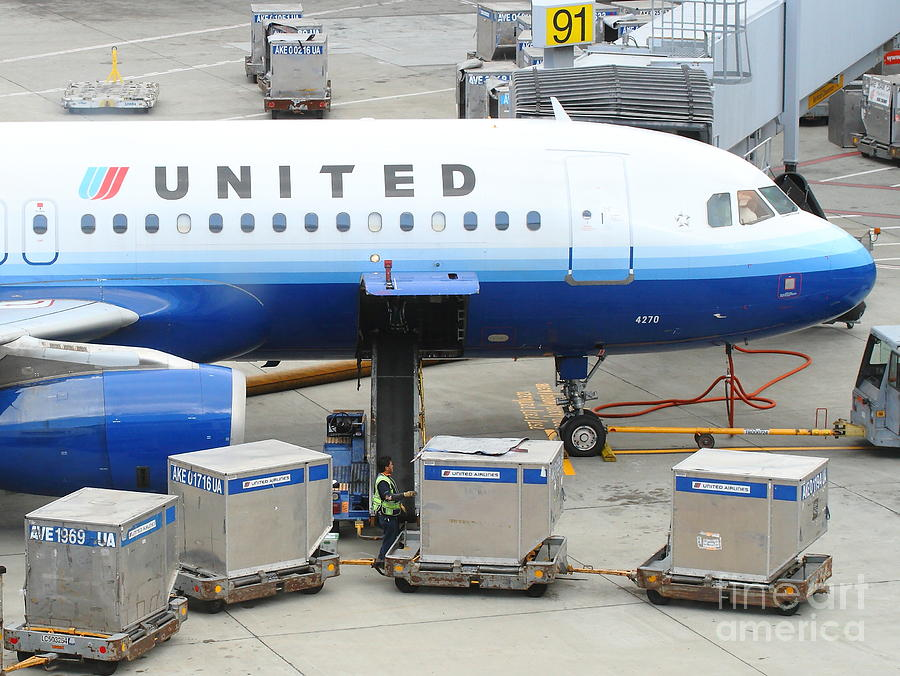 Sfo Photograph - United by Wingsdomain Art and Photography