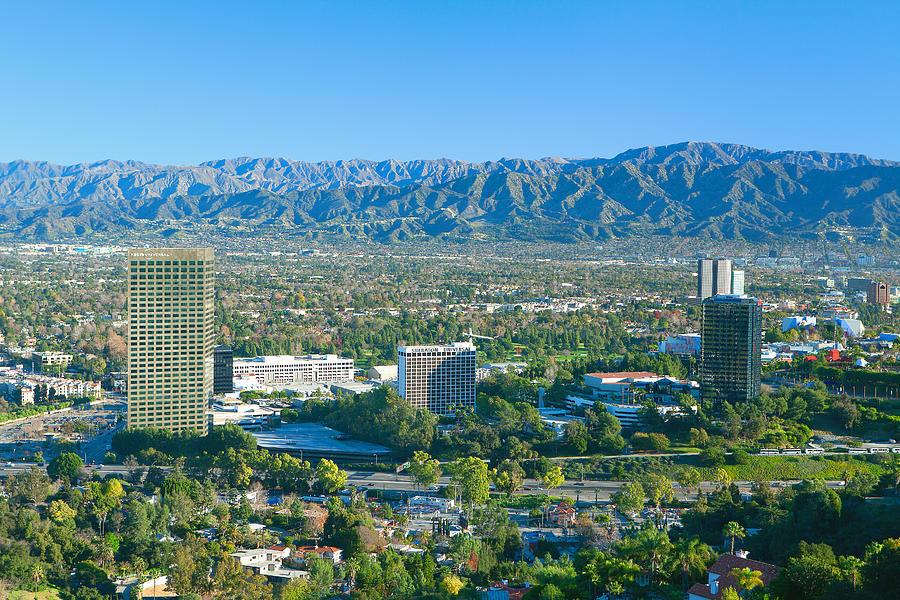 Universal City San Fernando Valley California Photograph