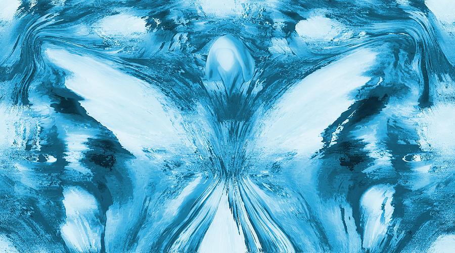 Universal Love Art : Universal love blue digital art by artistic mystic