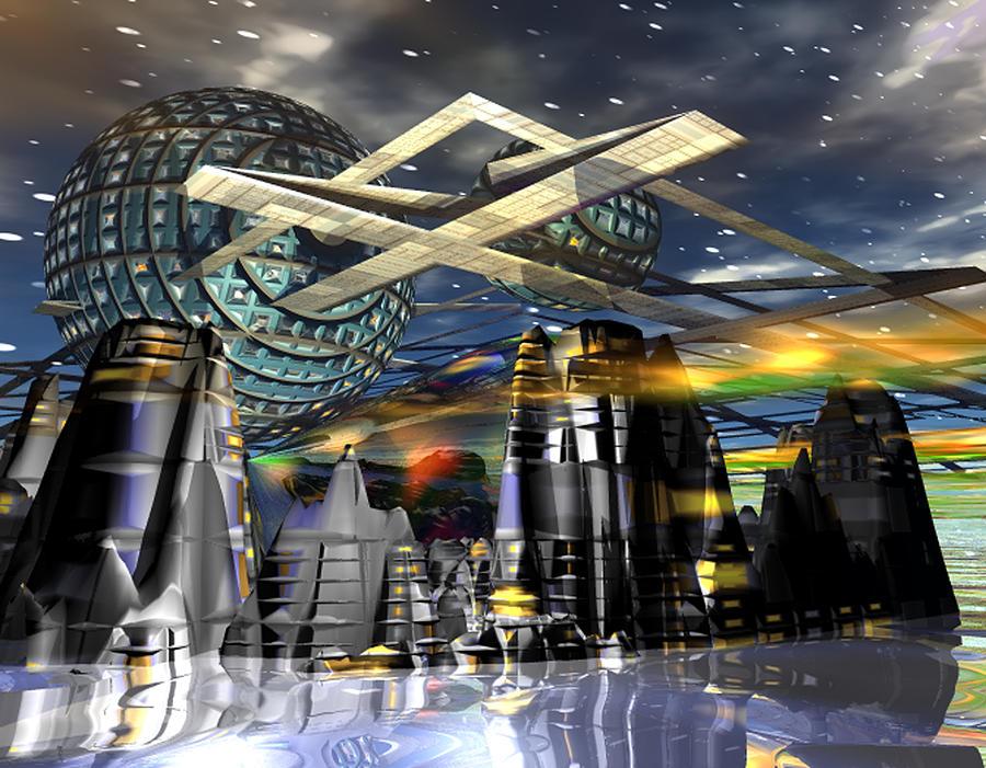 Universal World Digital Art