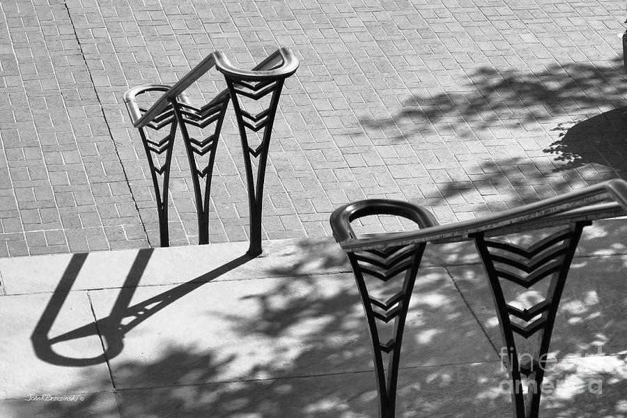 American Photograph - University Of Cincinnati Railings by University Icons