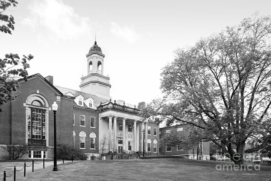 Storrs Photograph - University Of Connecticut Wilbur Cross Building by University Icons