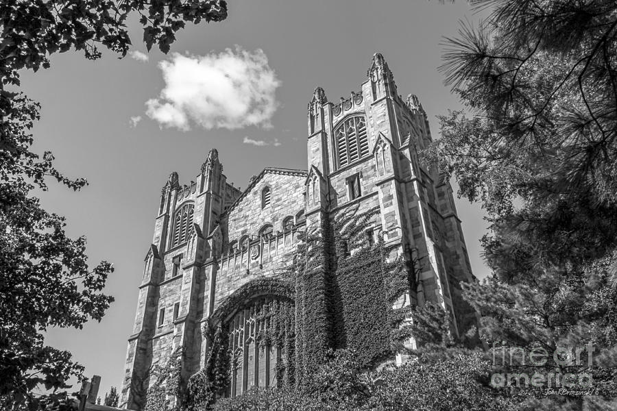 Ann Arbor Photograph - University Of Michigan Law Library by University Icons