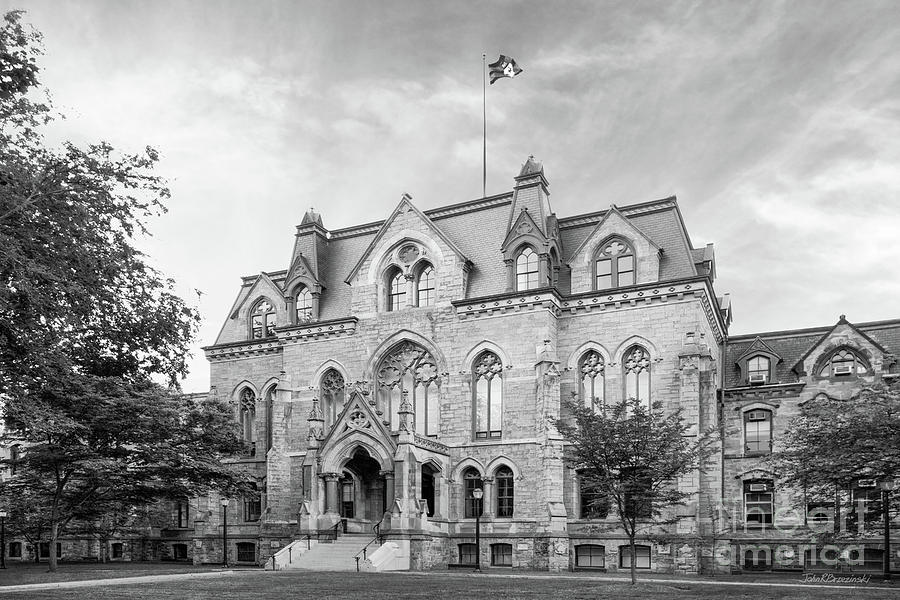Aau Photograph - University Of Pennsylvania College Hall by University Icons