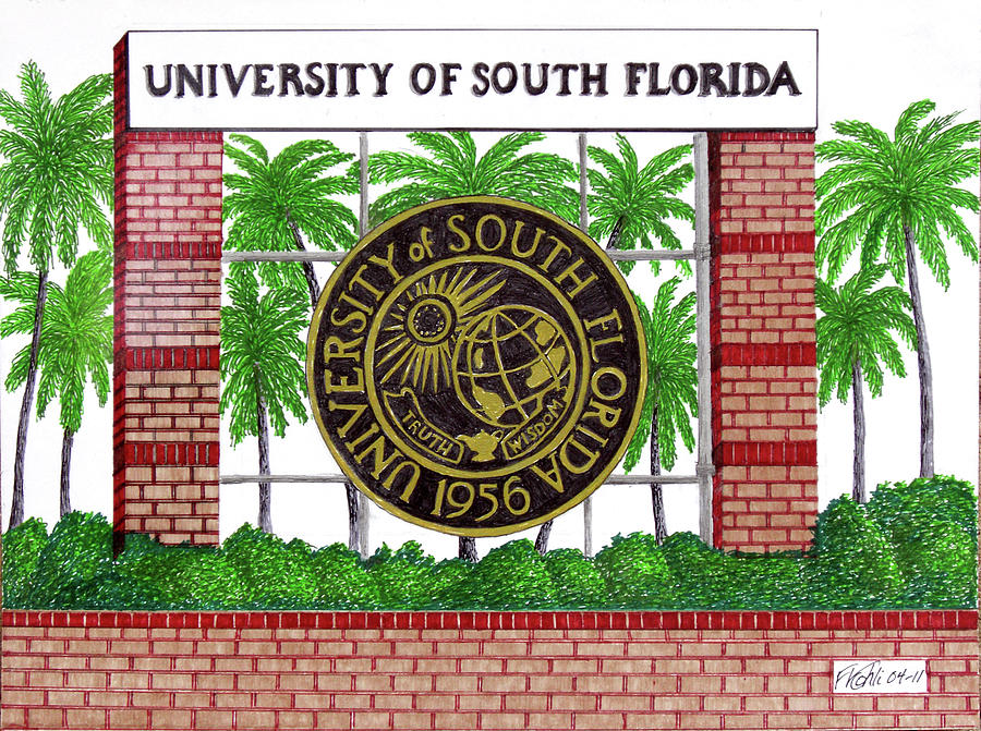 University Of South Florida by Frederic Kohli