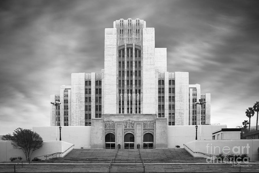California Photograph - University Of Southern California University Hospital by University Icons