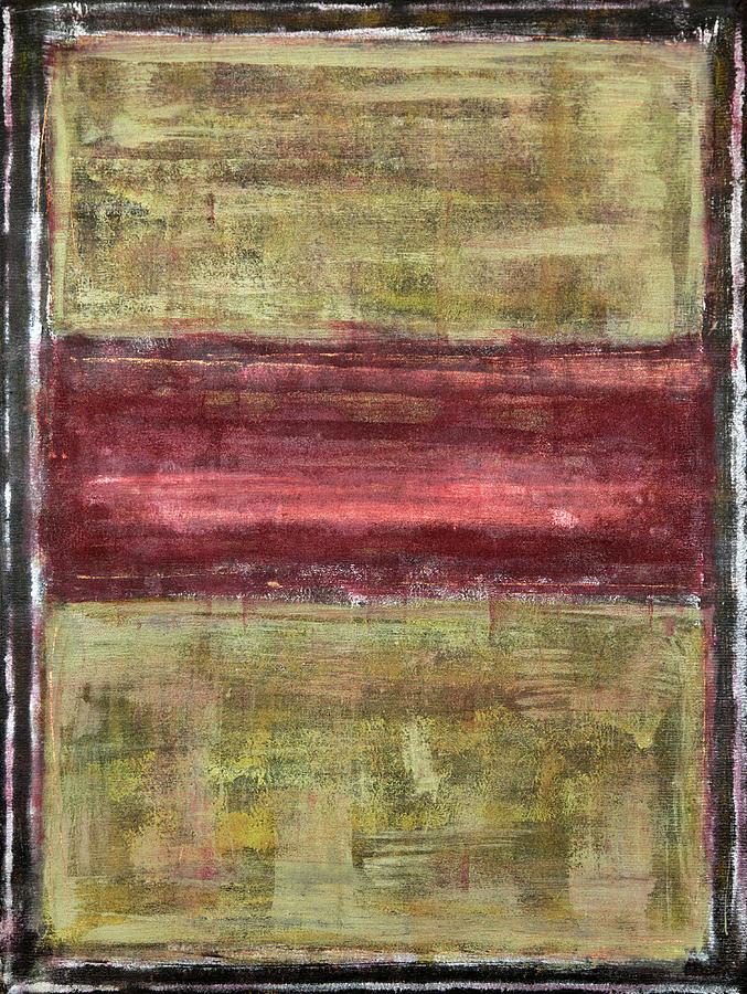 Black Painting - Untitled No. 21 by Julie Niemela