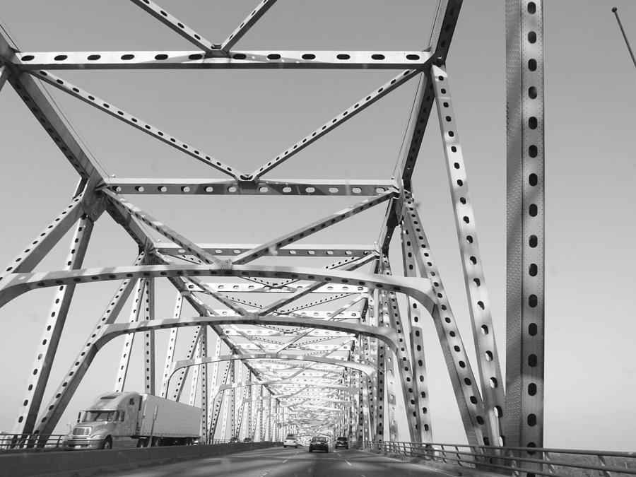 Missippi River Bridge Photograph - Up And Over by James Granberry