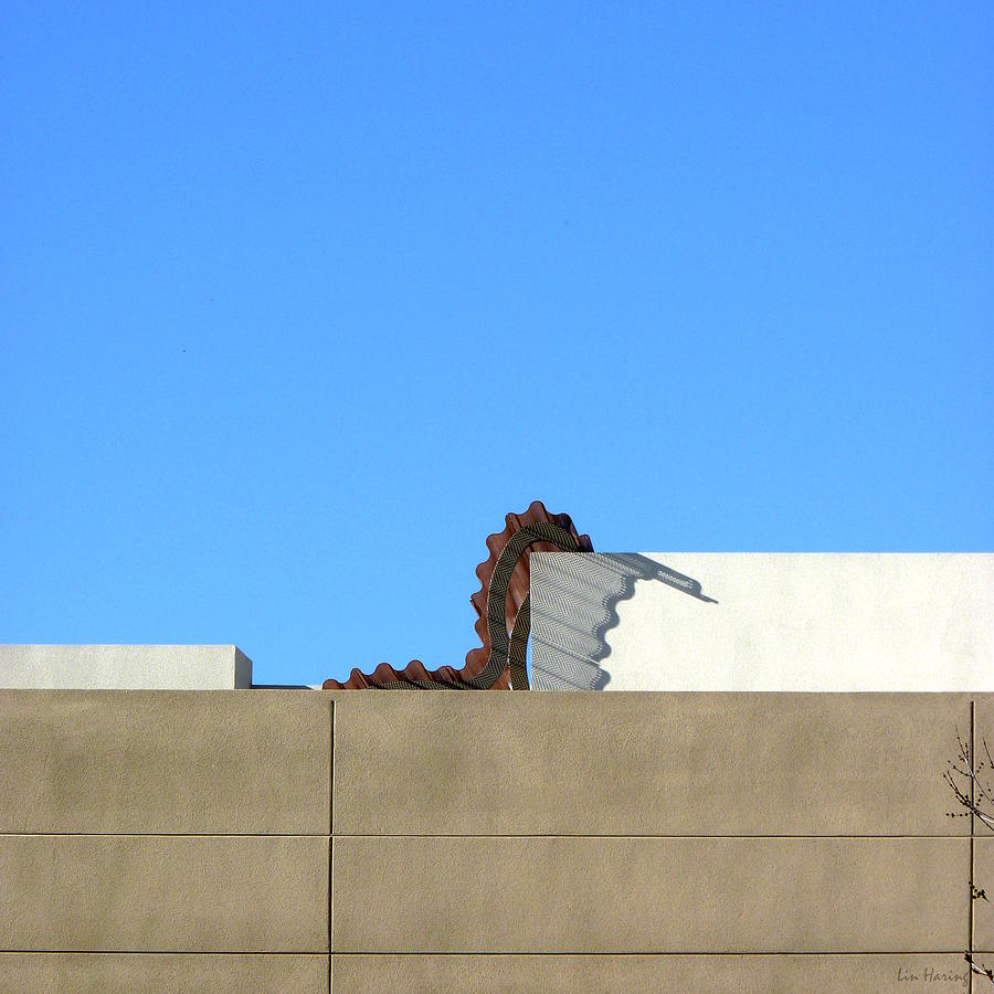 Sky Photograph - Up On The Roof by Lin Haring