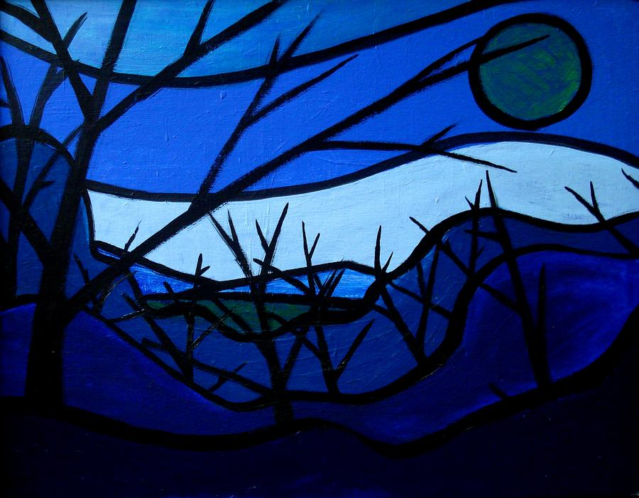Night Painting - Upstate by Jason Charles Allen
