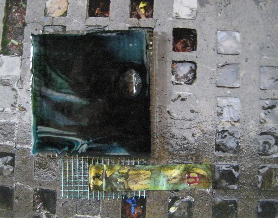 Urban Hardscapes - Windows To The Underground 1 Mixed Media