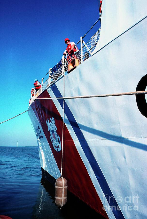Us Coast Guard Photograph - Us Coast Guard  by Thomas R Fletcher