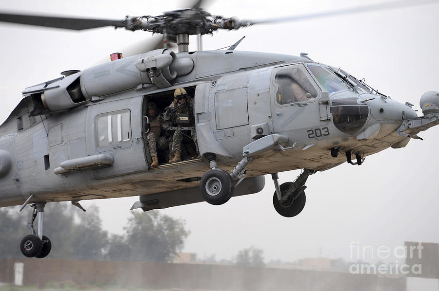 U.s. Special Forces Conduct Assault Photograph