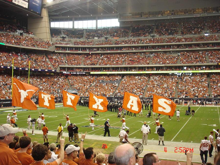 Texas Photograph - Ut Football by Martha Roehrick