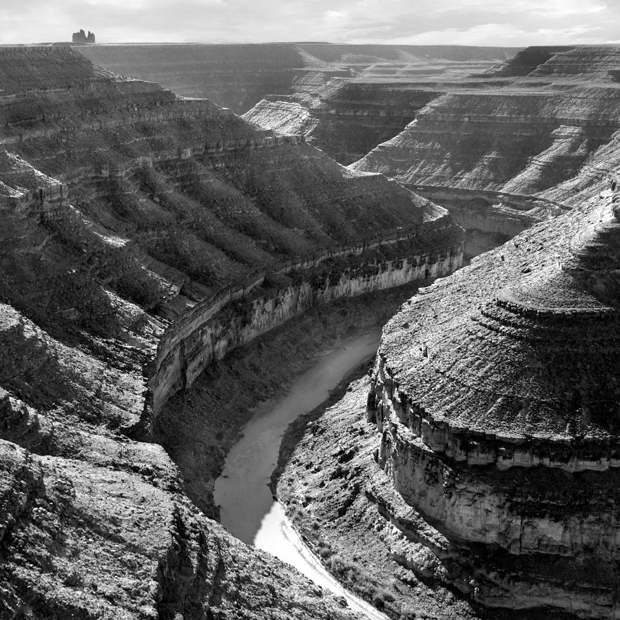 Square Photograph - Utah Outback 15 by Mike McGlothlen