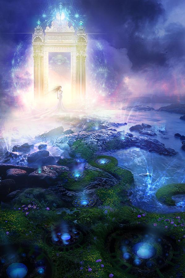 Utherworlds Passage To Hope Painting