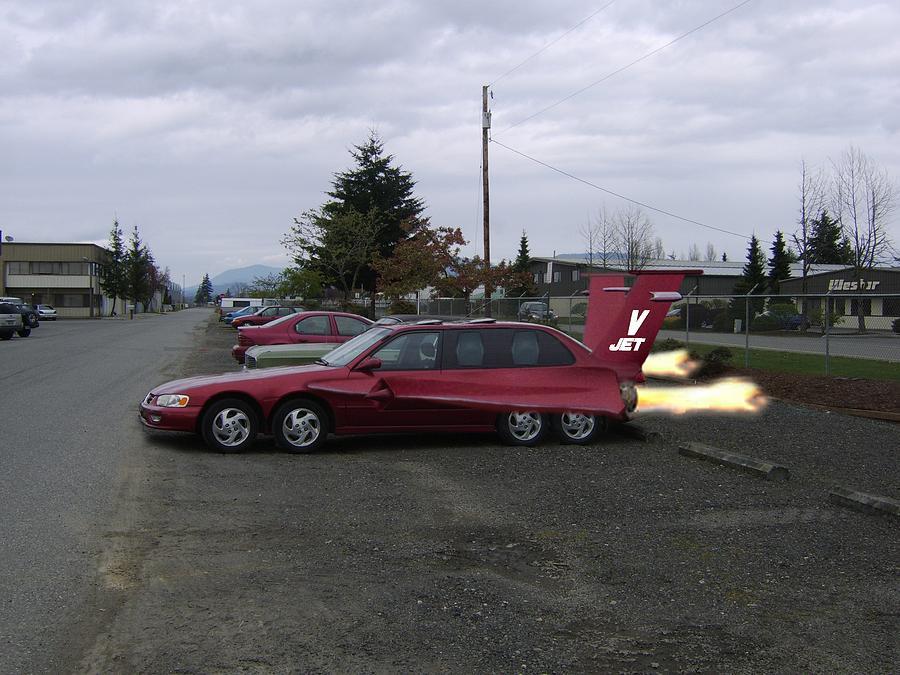 Car Photograph - V  Jet by Ken Day