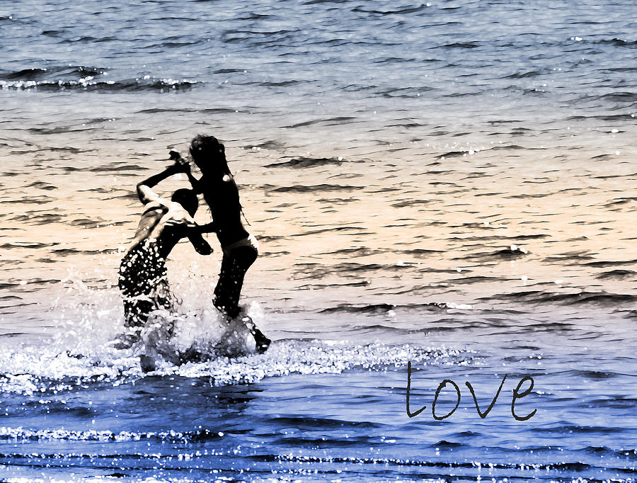 Love Photograph - V3-come Out And Play by Barbara  White