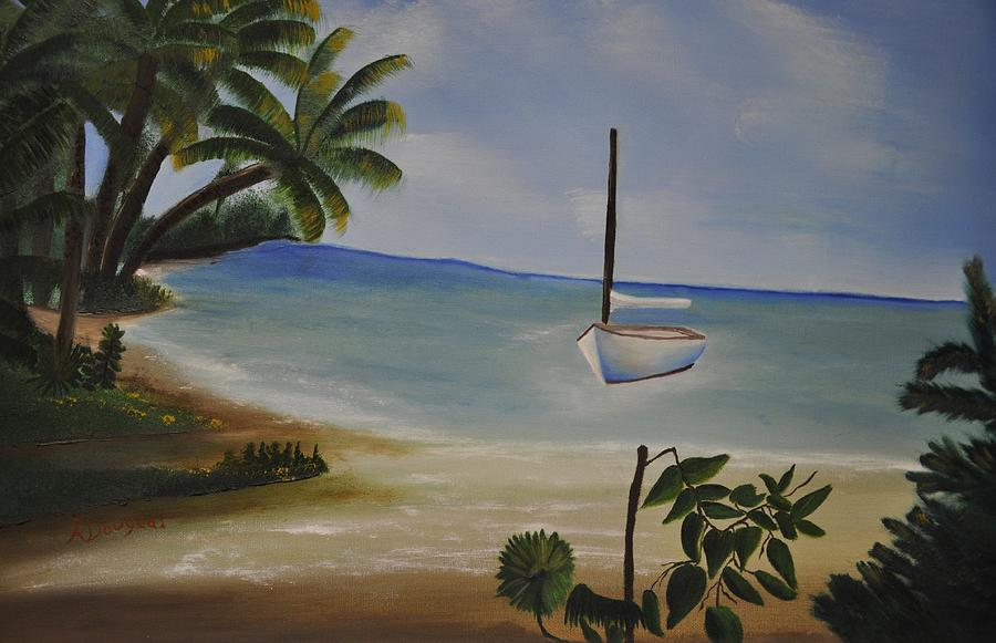 Landscap Painting - Vacation by Albert Douglas