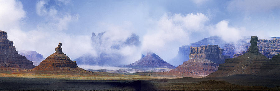 Utah Photograph - Valley Of The Gods by Leland D Howard