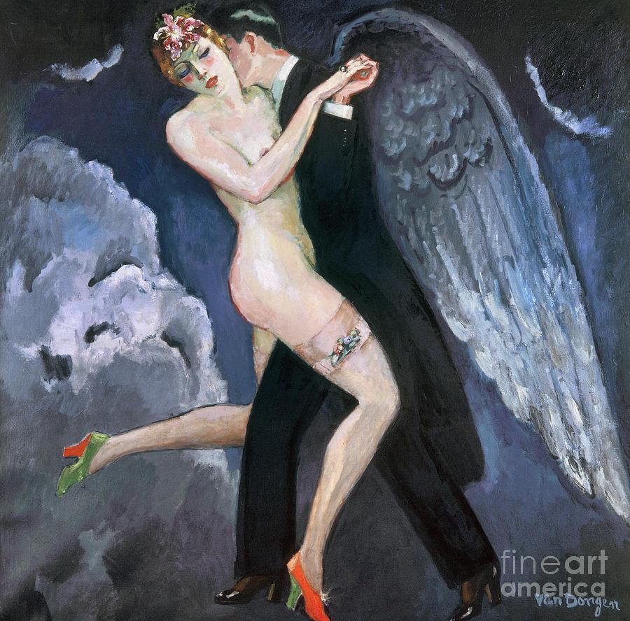 1930 Photograph - Van Dongen: Tango, C1930 by Granger