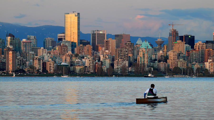 Vancouver Photograph - Vancouver Canoe by Pierre Leclerc Photography