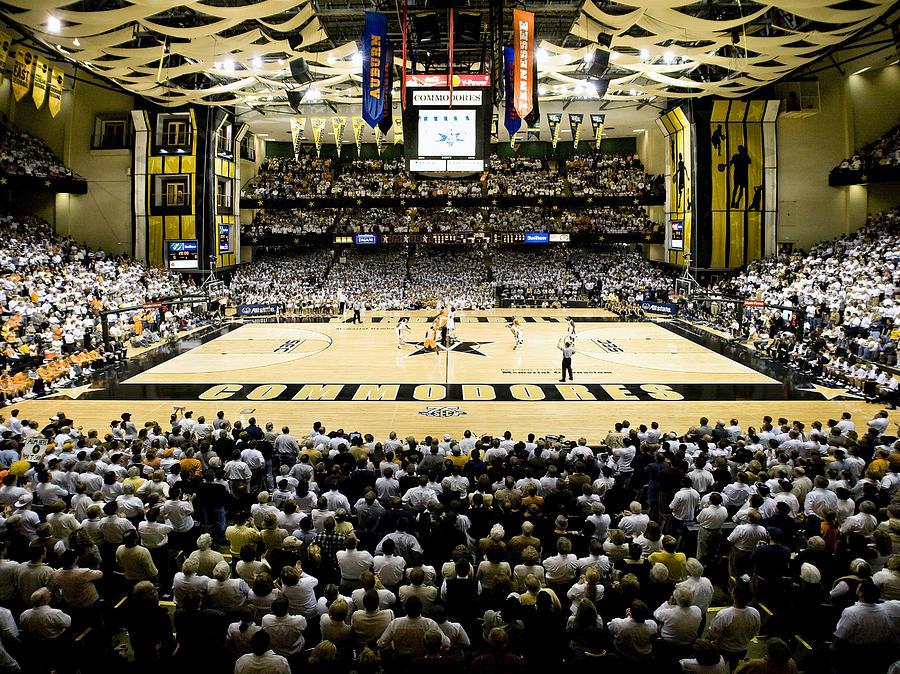 Memorial Gymnasium Photograph - Vanderbilt Commodores Memorial Gym by Replay Photos