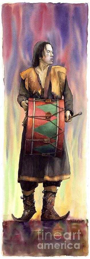 Varius Coloribus  Abul Painting