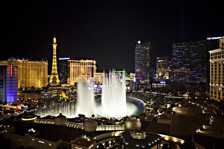 Las Vegas Photograph - Vegas Baby by Jonas Wingfield
