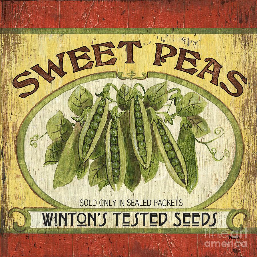 Veggie Seed Pack 1 Painting