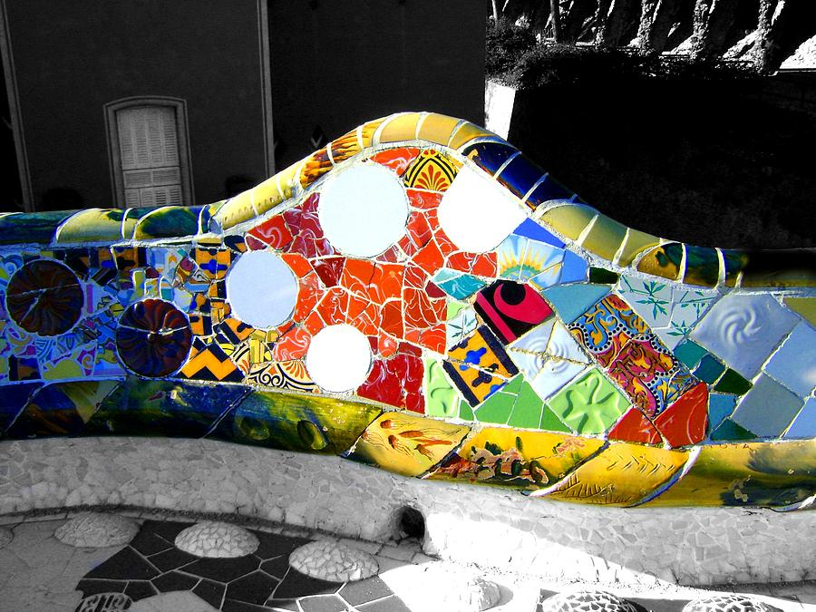 Gaudi Photograph - Vein by Roberto Alamino