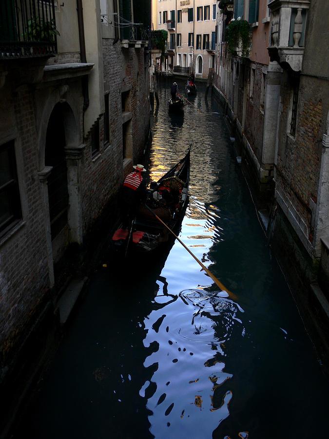 Gondola Photograph - Venice-3 by Valeriy Mavlo