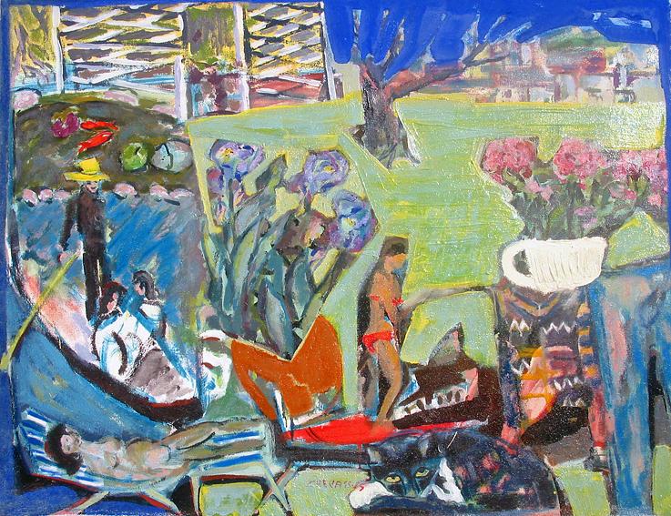 Venice Painting - Venice Dream by Chevassus-agnes Jean-pierre
