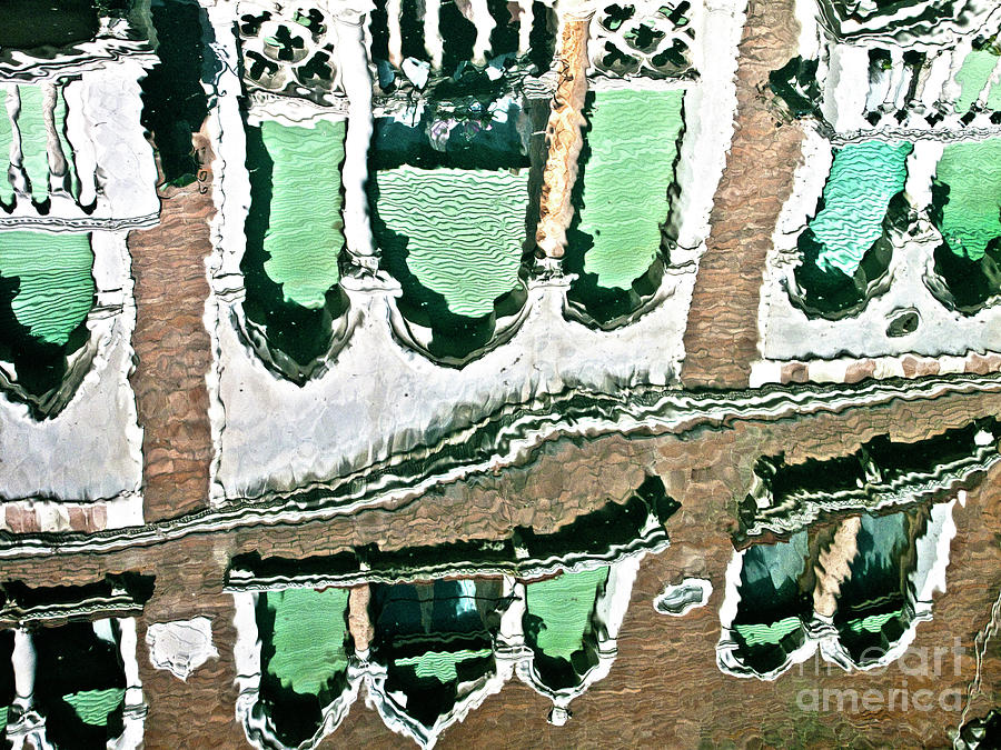 Water Photograph - Venice Upside Down 2 by Heiko Koehrer-Wagner