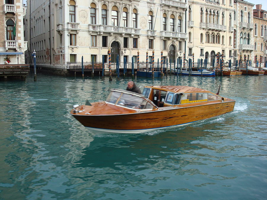 Venice Watertaxi Photograph By Toon Griffioen